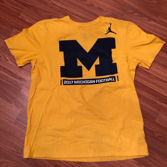 c96453e3 Jordan Shirts | Michigan Football Shirt | Poshmark